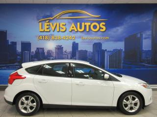 Used 2013 Ford Focus SE HAYON AUTOMATIQUE AIR CLIMATISÉ BLUET for sale in Lévis, QC