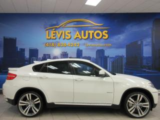 Used 2009 BMW X6 35i M-PACKAGE AWD MAGS 22 POUCES GPS NAV for sale in Lévis, QC