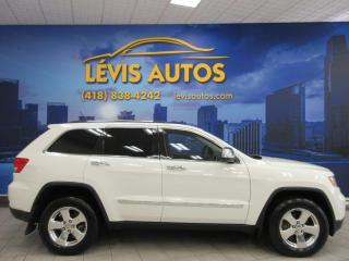 Used 2012 Jeep Grand Cherokee LAREDO 4X4 BLANC MAGS CHROMÉ EXTRA PROPR for sale in Lévis, QC