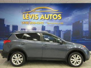Used 2013 Toyota RAV4 LIMITED AWD GPS NAVIGATION CUIR TOIT OUV for sale in Lévis, QC