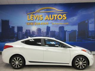 Used 2012 Hyundai Elantra GLS TOIT 6 VITESSE SIEGE CHAUFFANT BLUET for sale in Lévis, QC