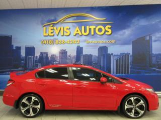 Used 2014 Honda Civic SI GPS NAVIGATION 1 SEUL PROPRIO 57 ANS for sale in Lévis, QC