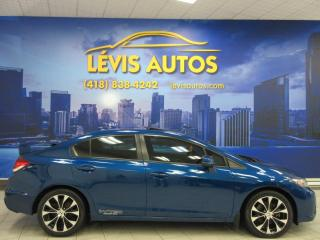Used 2013 Honda Civic SI GPS NAVIGATION MAGS TOIT OUVRANT BEAU for sale in Lévis, QC