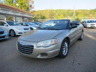 Used 2006 Chrysler Sebring LX DECAPOTABLE for sale in Québec, QC