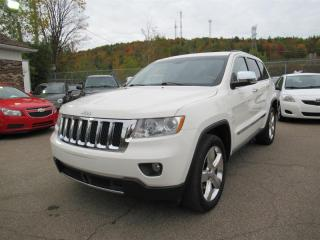 Used 2012 Jeep Grand Cherokee Overland 4WD V8 5.7L for sale in Québec, QC