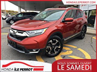 Used 2018 Honda CR-V TOURING , JAMAIS ACCIDENTÉE , BAS KM , I for sale in Île-Perrot, QC