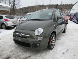 Used 2013 Fiat 500 Sport for sale in Québec, QC
