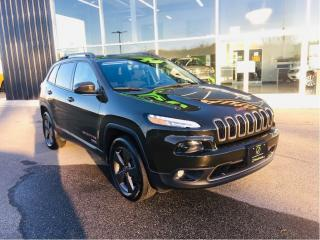 Used 2016 Jeep Cherokee 75th Jeep Anniversary Edition All new tires! for sale in Ingersoll, ON