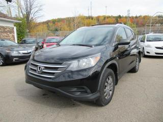 Used 2012 Honda CR-V LX AWD for sale in Québec, QC