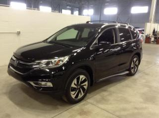 Used 2015 Honda CR-V AWD TOURING CUIR TOIT for sale in Longueuil, QC