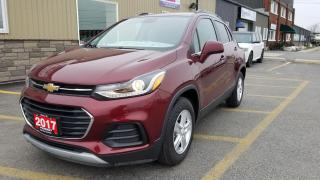 Used 2017 Chevrolet Trax LT-YES ONLY 7202KM-LOCAL VEHICLE-FACTORY WARRANTY for sale in Tilbury, ON