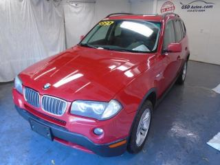 Used 2007 BMW X3 3,0i for sale in Ancienne Lorette, QC