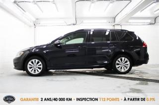Used 2017 Volkswagen Golf Sportwagen Manuelle Trendline 1.8 TSI + Caméra + Bluetooth for sale in Québec, QC