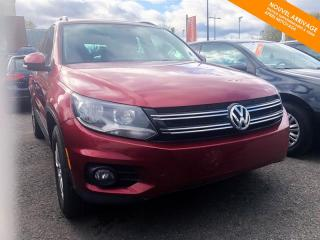 Used 2015 Volkswagen Tiguan Trendline 4MOTION + AWD + BANC CHAUFFANTS for sale in Québec, QC
