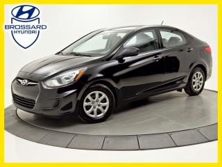 Used 2014 Hyundai Accent GL SIÈGES CHAUFFANTS BLUETOOTH for sale in Brossard, QC