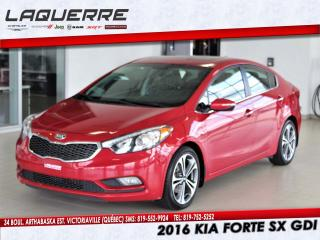 Used 2016 Kia Forte SX for sale in Victoriaville, QC