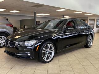 Used 2016 BMW 3 Series 320i xDrive Sportline Toit Cuir Rouge for sale in Pointe-Aux-Trembles, QC