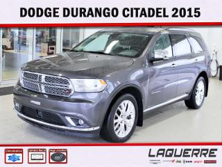 Used 2015 Dodge Durango Citadel ** V8 * 5.7L** for sale in Victoriaville, QC