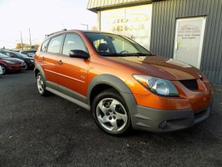 Used 2004 Pontiac Vibe ***BAS KILO,AUTOMATIQUE,A/C*** for sale in Longueuil, QC