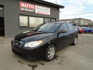 Used 2010 Hyundai Elantra GL for sale in St-Hubert, QC