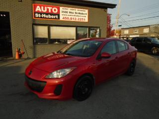 Used 2012 Mazda MAZDA3 GS for sale in St-Hubert, QC