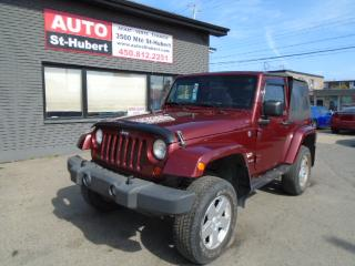 Used 2007 Jeep Wrangler Sahara A/c for sale in St-Hubert, QC