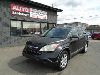 Used 2008 Honda CR-V EX-L AWD for sale in St-Hubert, QC