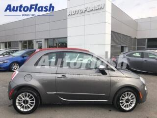 Used 2012 Fiat 500 C Lounge *Convertible *Extra-Clean * for sale in St-Hubert, QC