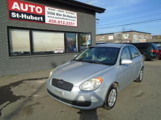 Used 2006 Hyundai Accent GL ** 81 000 KM CERTIFIÉ ** for sale in St-Hubert, QC