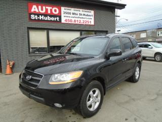 Used 2008 Hyundai Santa Fe GLS CUIR/TOIT/MAGS for sale in St-Hubert, QC
