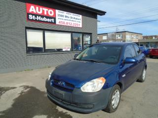 Used 2008 Hyundai Accent GL ** 109 000 KM CERTIFIÉ ** for sale in St-Hubert, QC