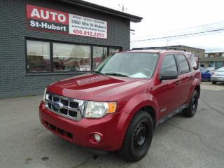 Used 2008 Ford Escape XLT AWD for sale in St-Hubert, QC