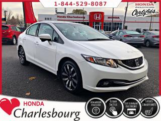 Used 2015 Honda Civic Touring**33 506 KM**GPS+CUIR** for sale in Charlesbourg, QC