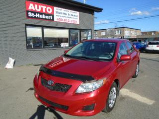 Used 2010 Toyota Corolla CE for sale in St-Hubert, QC
