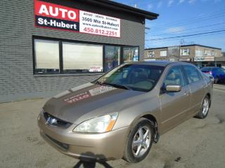 Used 2005 Honda Accord EX-L for sale in St-Hubert, QC