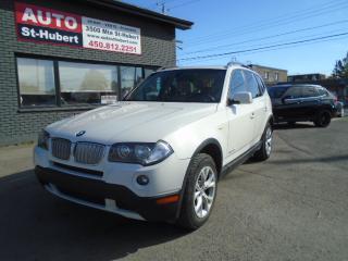 Used 2009 BMW X3 3.0I XDRIVE ** 124 000 KM CERTIFIÉ ** for sale in St-Hubert, QC