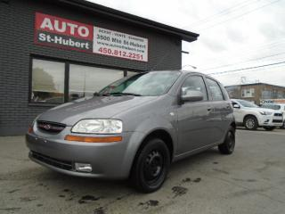 Used 2008 Chevrolet Aveo5 LT for sale in St-Hubert, QC