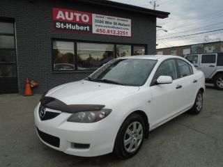 Used 2009 Mazda MAZDA3 GX for sale in St-Hubert, QC