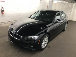Used 2016 BMW 3 Series 320i xDrive AWD CUIR MAGS **33,000KM** NOIR / NOIR for sale in St-Eustache, QC