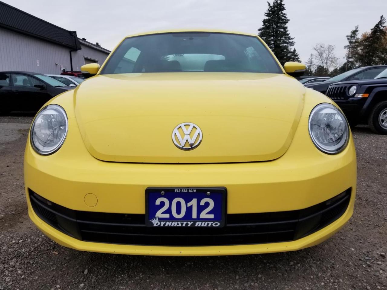 2012 Volkswagen New Beetle