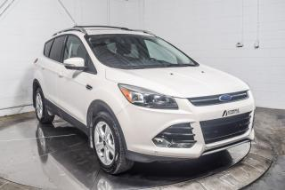 Used 2016 Ford Escape TITANIUM AWD CUIR TOIT PANO MAGS CAMERA for sale in Île-Perrot, QC