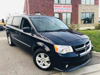 Used 2012 Dodge Grand Caravan Crew Full Stow & Go for sale in Rexdale, ON
