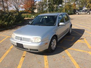 Used 2003 Volkswagen Golf GLS for sale in Toronto, ON