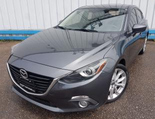 Used 2015 Mazda MAZDA3 GT Hatchback *SUNROOF* for sale in Kitchener, ON