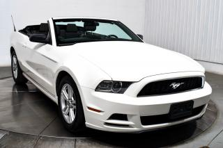 Used 2013 Ford Mustang CONVERTIBLE V6 for sale in Île-Perrot, QC