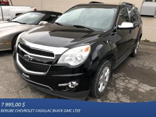 Used 2011 Chevrolet Equinox LS for sale in Rivière-Du-Loup, QC
