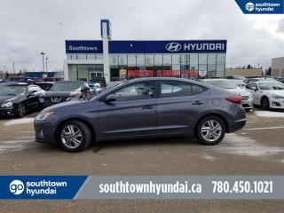 Used 2019 Hyundai Elantra PREF/BLIND SPOT DETEC/BACKUP CAM/HEATED WHEEL for sale in Edmonton, AB