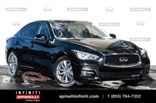Used 2017 Infiniti Q50 3.0t / PREMIUM / GPS / TOIT / CAMERA PREMIUM / GPS / TOIT / CAMERA for sale in Montréal, QC
