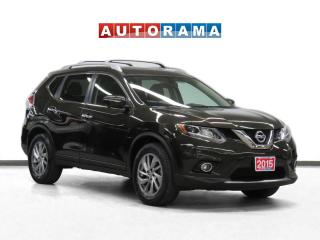Used 2015 Nissan Rogue SL 4WD Nav Leather Panoramic Sunroof Backup Cam for sale in Toronto, ON