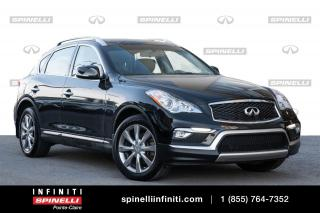 Used 2017 Infiniti QX50 AWD / TOIT / CAMERA / SIEGES CHAUFFANTS BAS KM AWD TOIT OUVRANT CUIR for sale in Montréal, QC